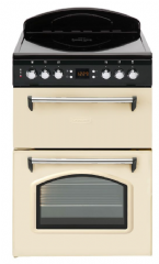 Leisure 60cm Wide Double Oven Cooker CLA60CEC (Cream/Black)